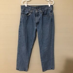 Levi's 550 Relaxed Fit Jeans SZ 34/30 Medium Wash
